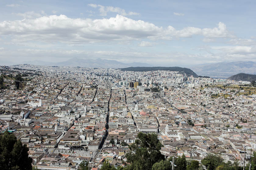 The Travelettes Guide to Quito - View over Quito 1