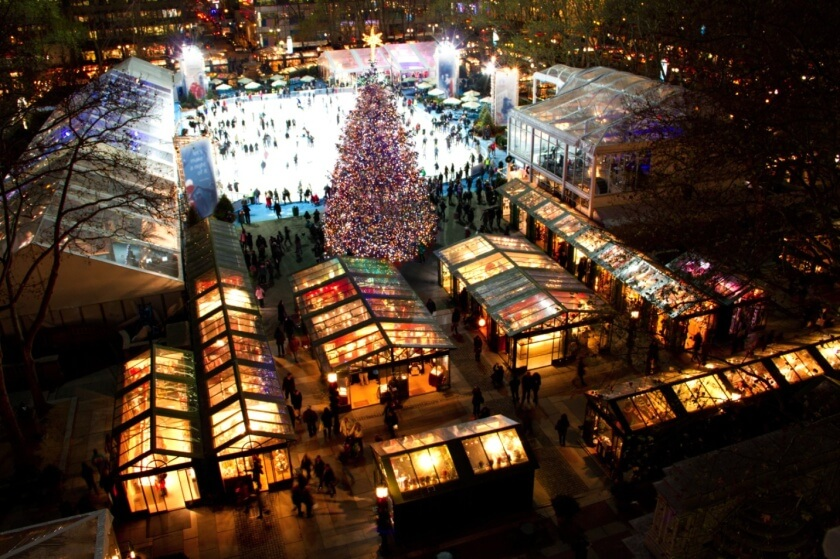 a guide to the holidays in NYC