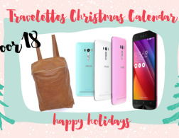 Travelettes Christmas Calendar - Day 18: ZenFone Selfie & Leather Bag Giveaway