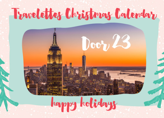 Travelettes Christmas Calendar - Day 23: NEW YORK (HotelTonight Voucher + Broadway tickets!)