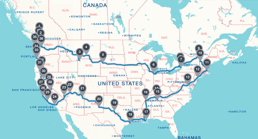 Getting Ready for an Epic American Roadtrip - Agnes Icher,Travelettes 8