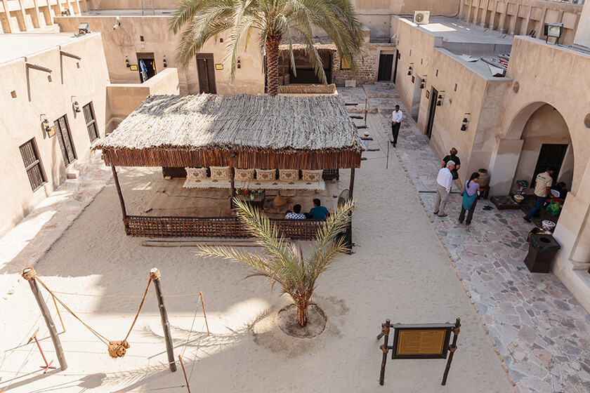 7 Things to do in Dubai on a Layover - heritage village dubai