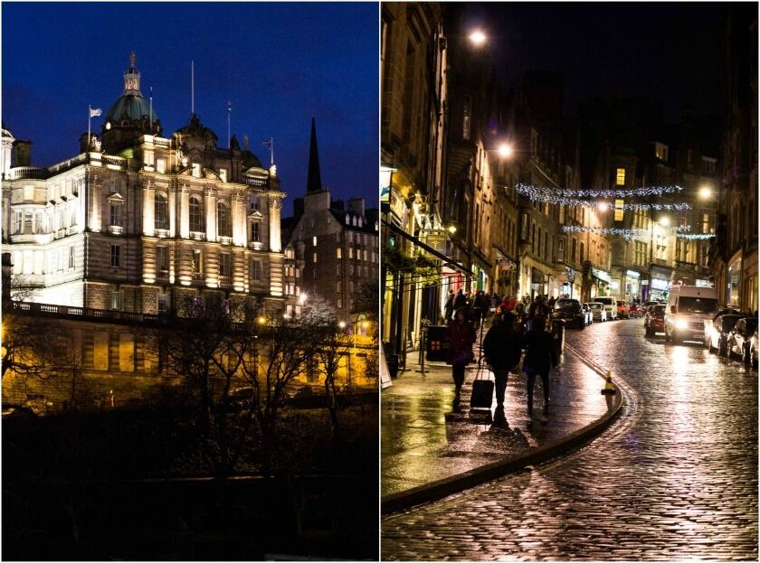 Edinburgh Hogmanay - Old Town