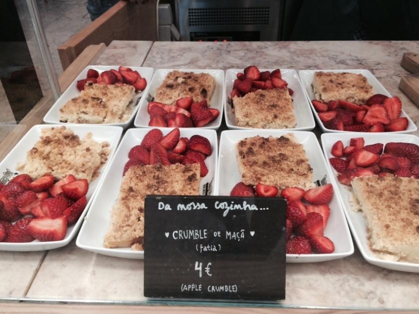 dessert in lisbon