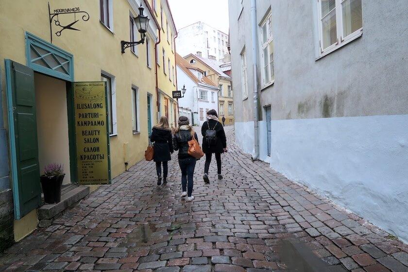exploring tallinn's old town