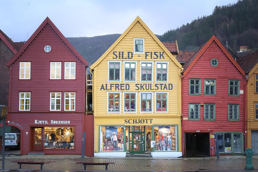 Bergen for Travelettes 1-6