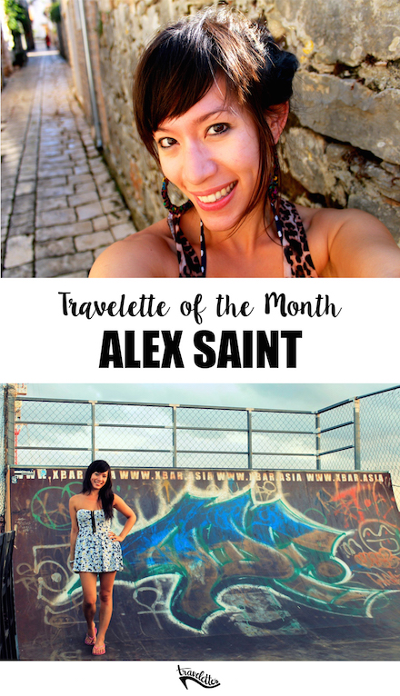 Travelette of the Month - Alex Saint