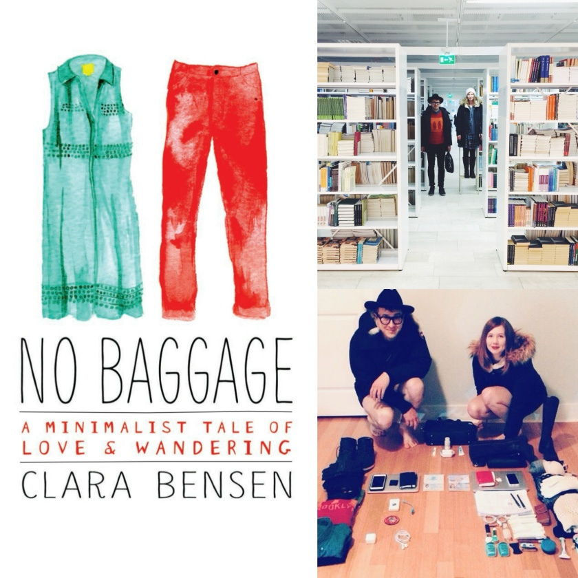 clara bensen luggage-less dance across europe