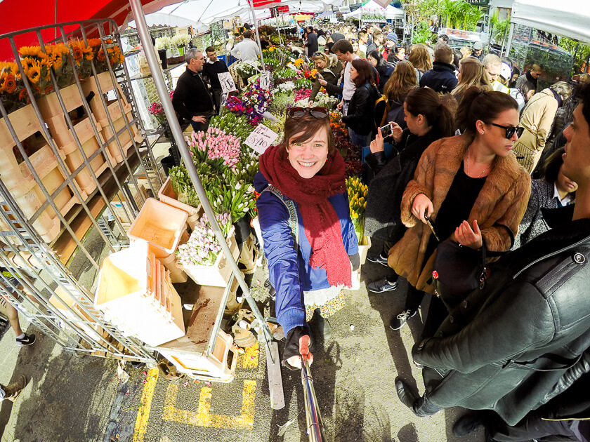 Doing London on a Budget with Meininger - Columbia Road Flower Market