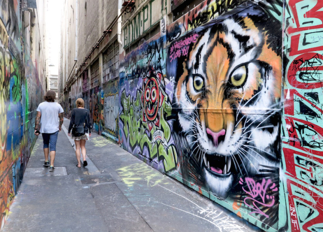 Get Lost in the Laneways of Melbourne