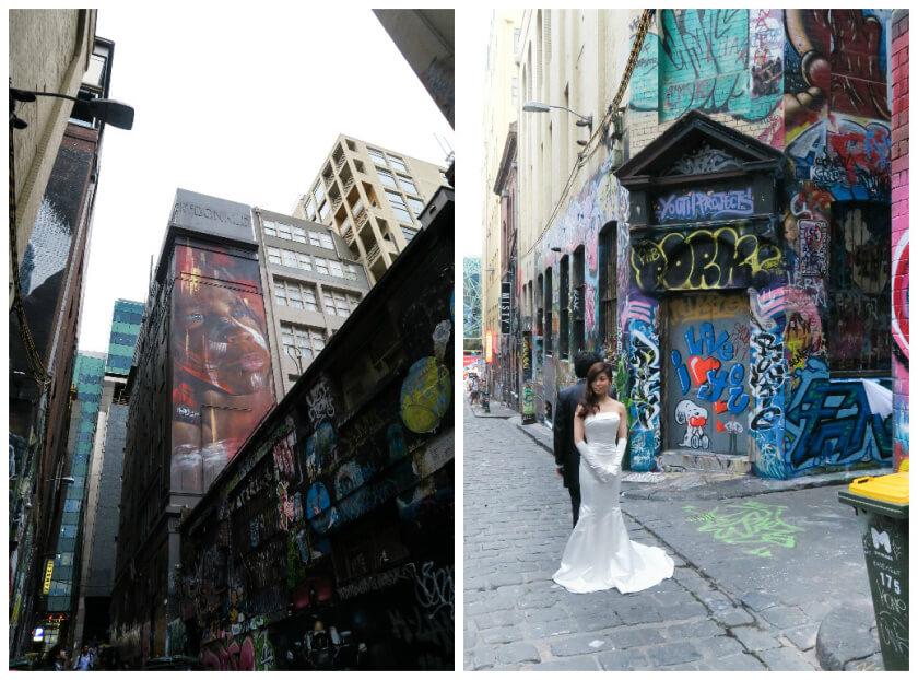 melbourne laneways street art hoosier lane
