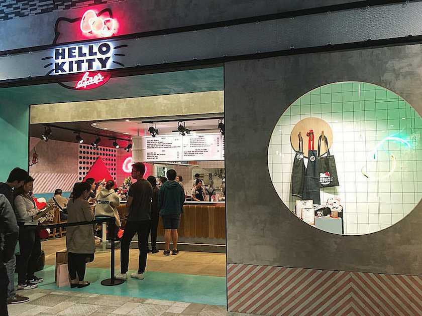 Top 10 Coolest Neighbourhoods in Sydney | Chatswood, Hello Kitty Cafe