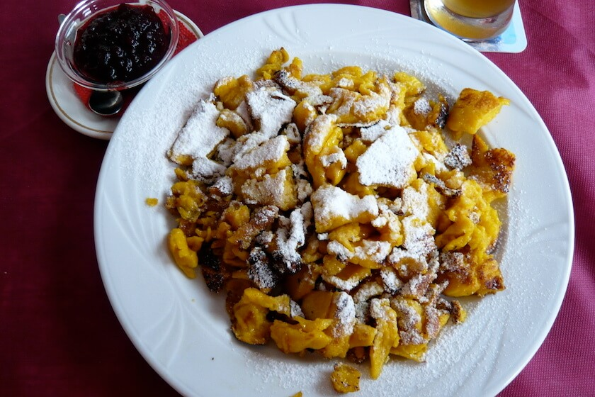 The best Foods you need to Eat in Austria: Kaiserschmarrn | Travelettes.net