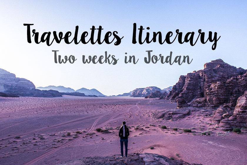 Travelettes_Title_Jordan Itinerary