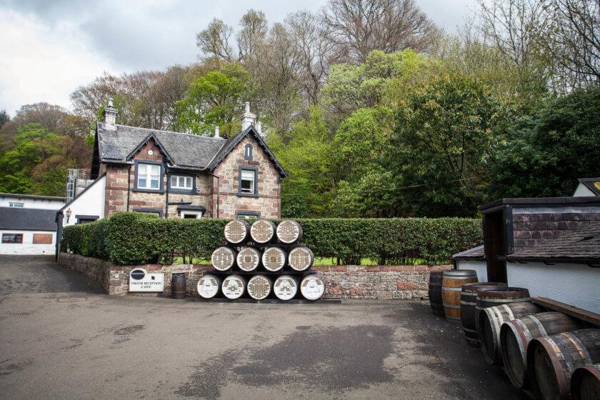 Glengoyne Distillery in Scotland