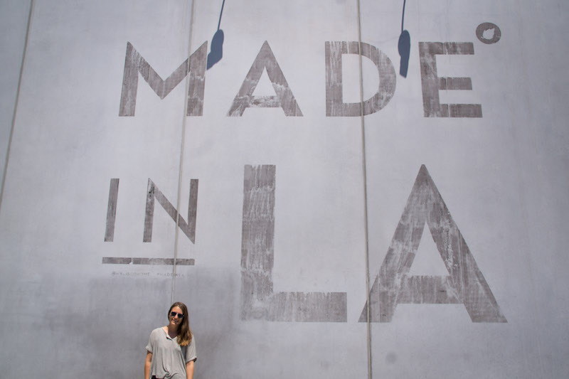 Made in LA Wall Los Angeles