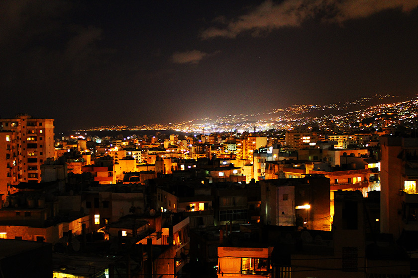 Travelettes_Beirut by night