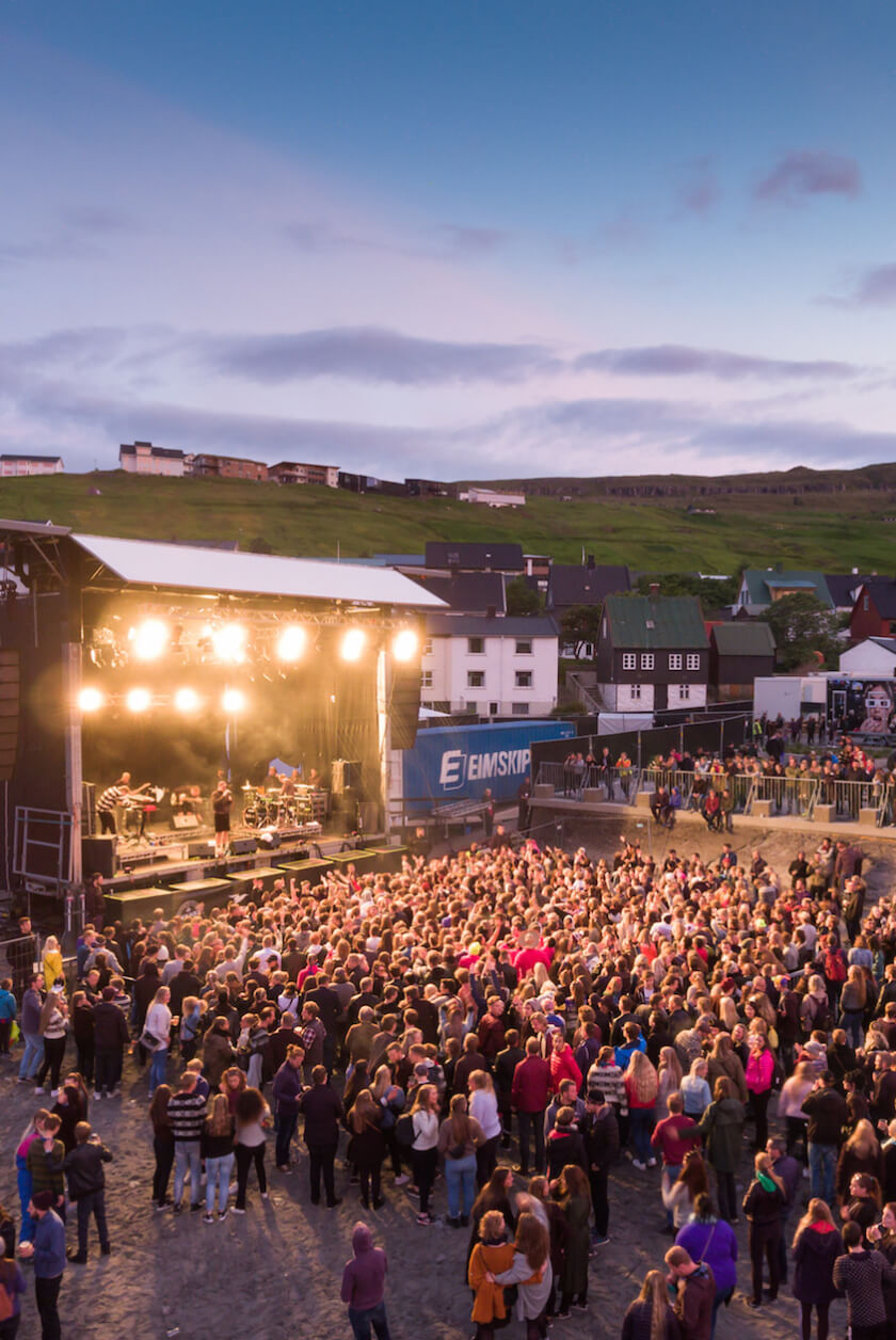 Who would have thought that the coolest music festivals in Europe is held every summer on an island in the middle of the North Atlantic?