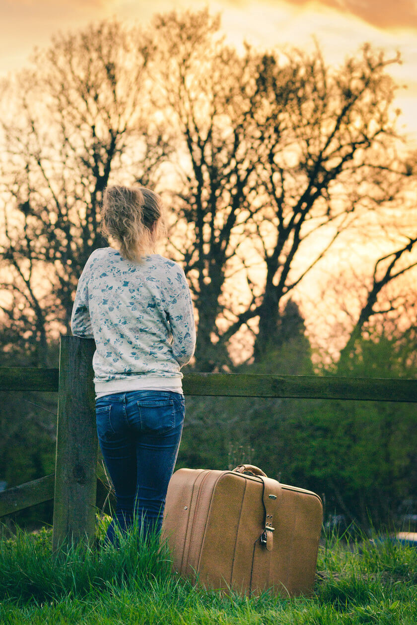 Loosing your luggage can ruin your entire trip; or it can be a blessing - it depends on how you look at it!