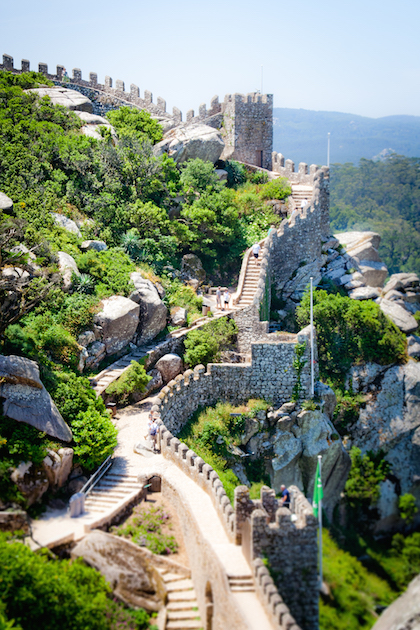 Sintra Portugal Pena Palace Moorish Castle Day Trip Lisbon