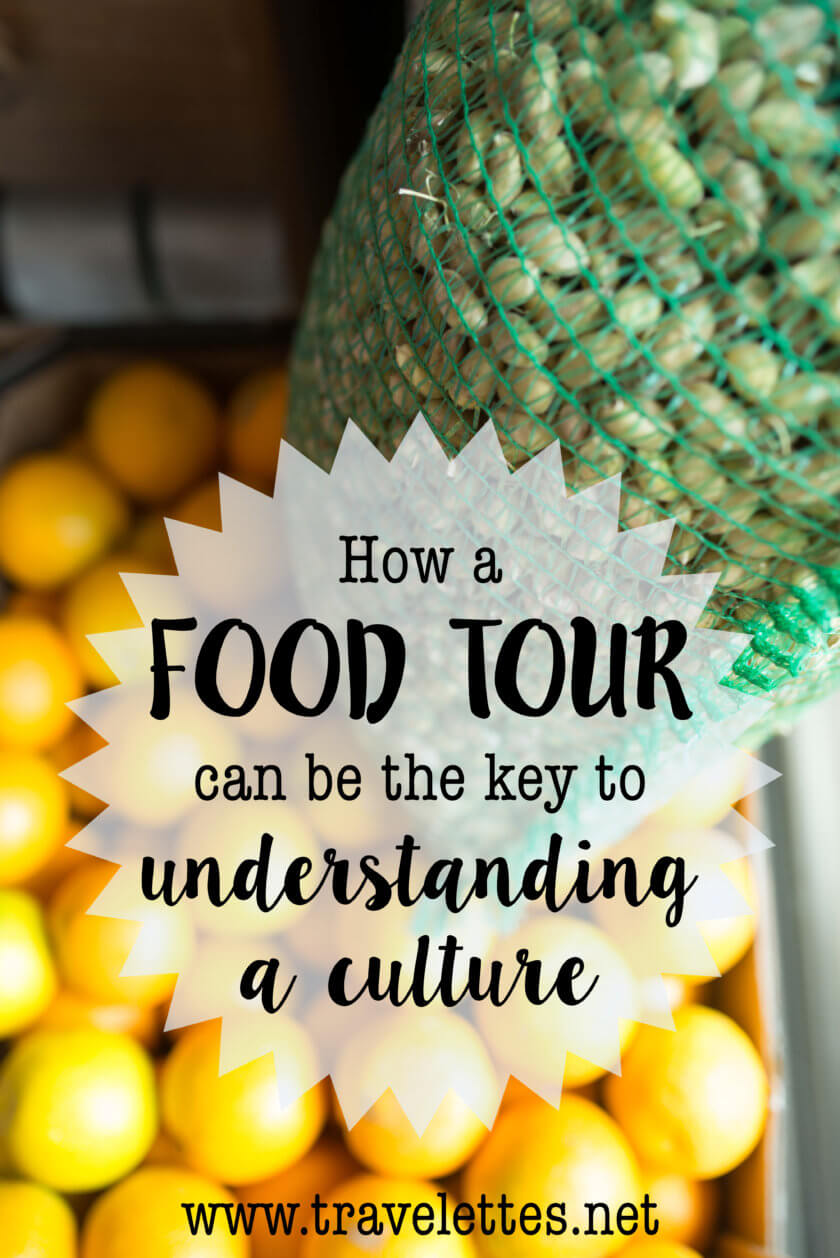 Food is not just a means to fill your belly on your travels, food - and a food tour - can also help you crack the cultural code and learn a secret or two!