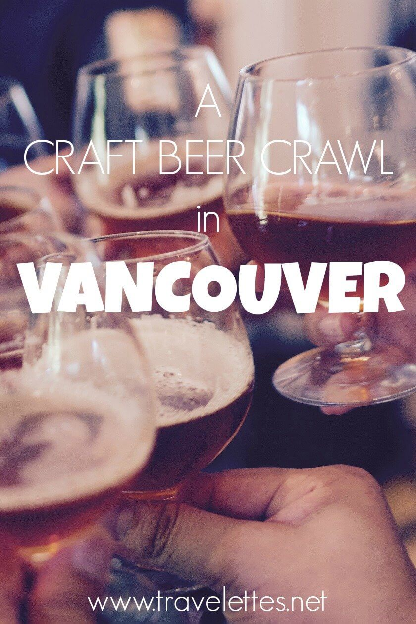 If you are into craft beer, there is no place like East Vancouver!