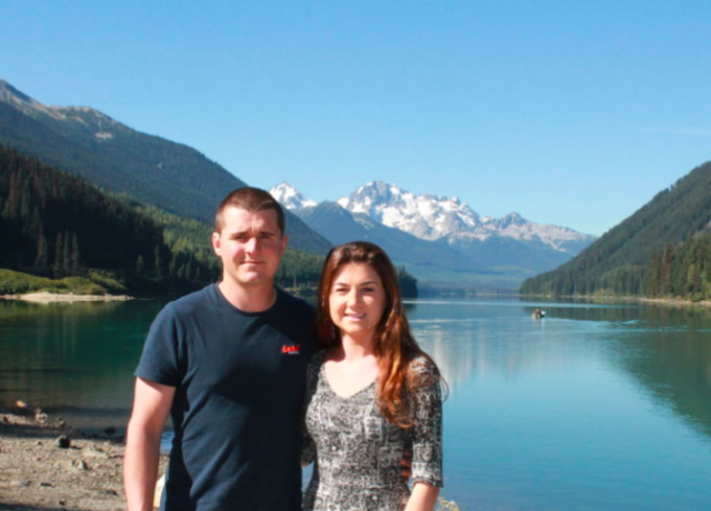 Couples who travel & blog: Aimee and Paul