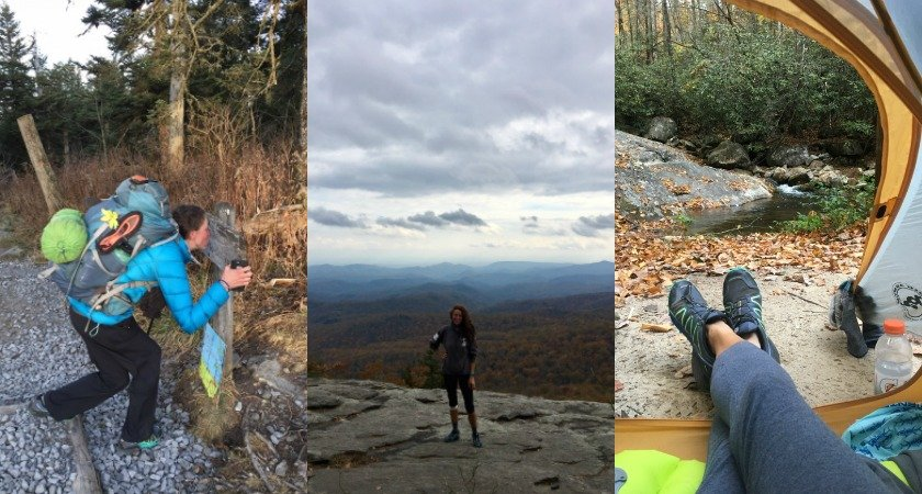 Meet the first woman to yoyo hike the Mountains to Sea Trail - yes, Kimberly Brookshire hiked from one side of NC to the other and back again!