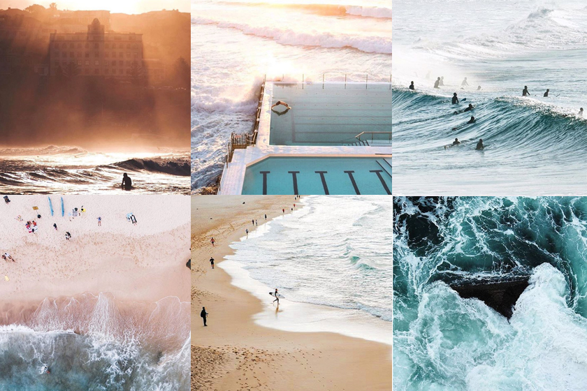 Instagram Instagrammers Australia Inspiration Travel 50 Shades Bondi Beach