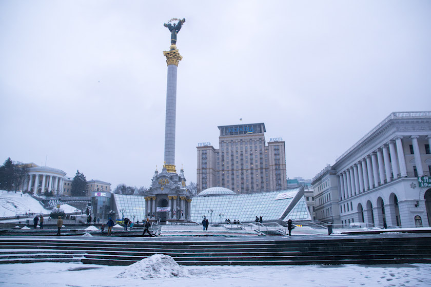 Kyiv Kiev City Guide Maidan Square Ukraine