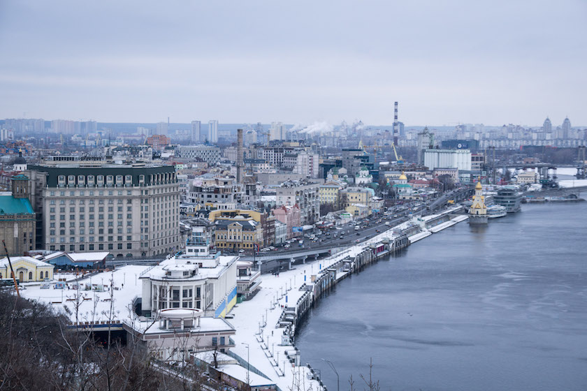 Kyiv Kiev City Guide Podil Neighborhood
