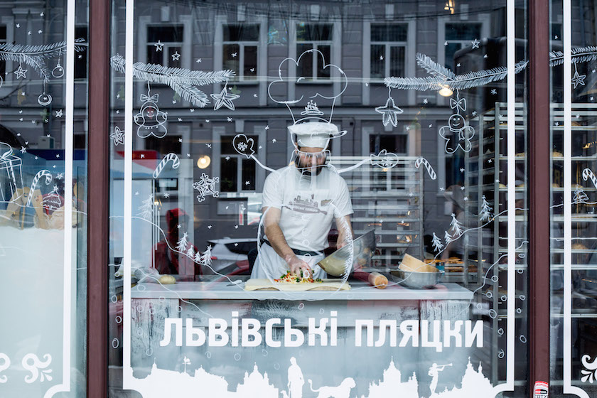 Kyiv Kiev City Guide Strudel Bakery