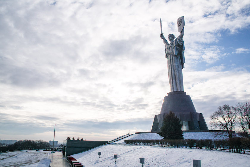 Kyiv Kiev City Guide Ukraine Mother Motherland monument