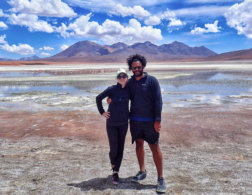 Couples who travel and blog: Sarah & James