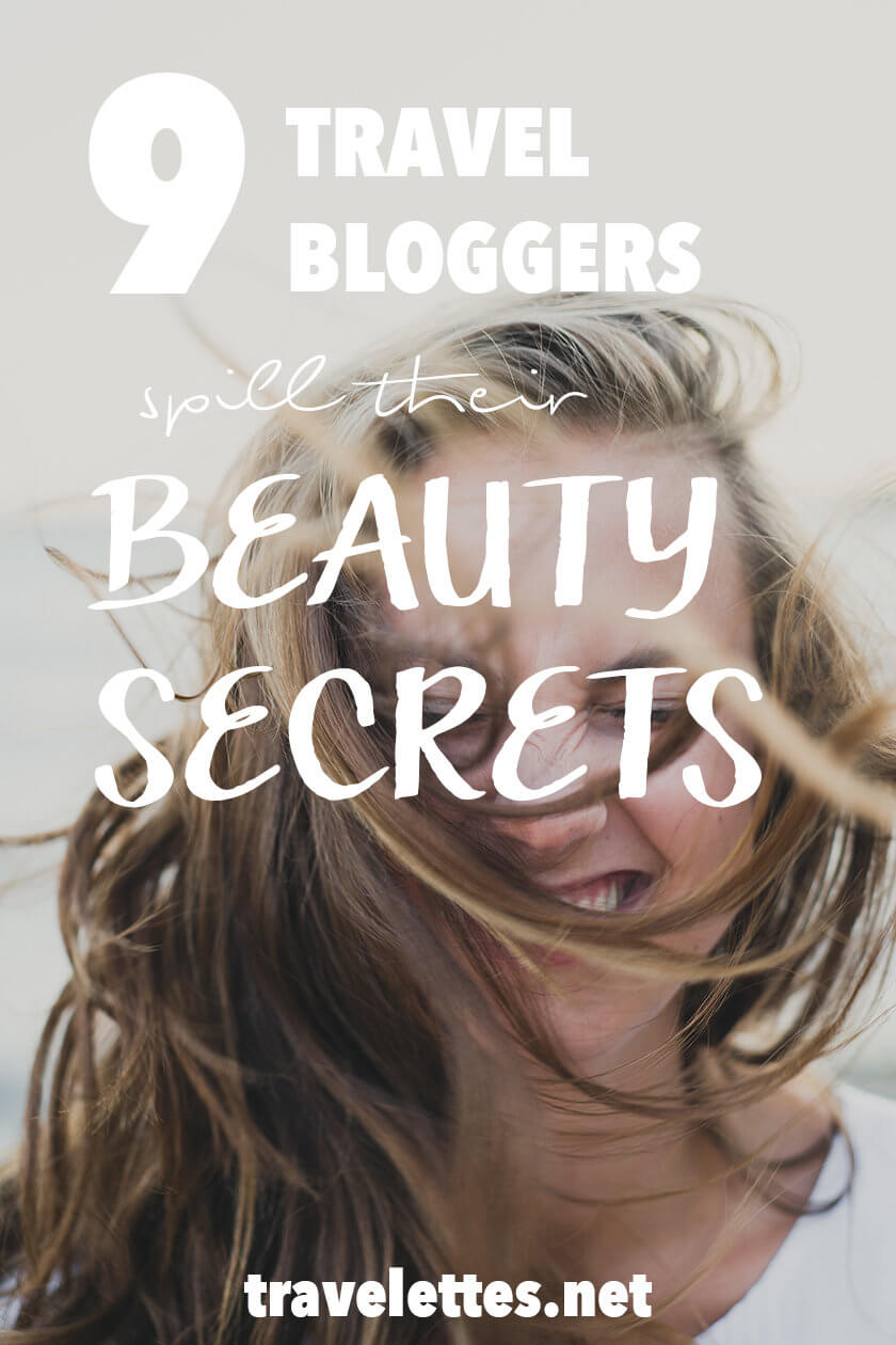 What are the beauty secrets of travel bloggers? How do they fit their products into a carry-on? Find the answers to these questions & more tips on Travelettes!