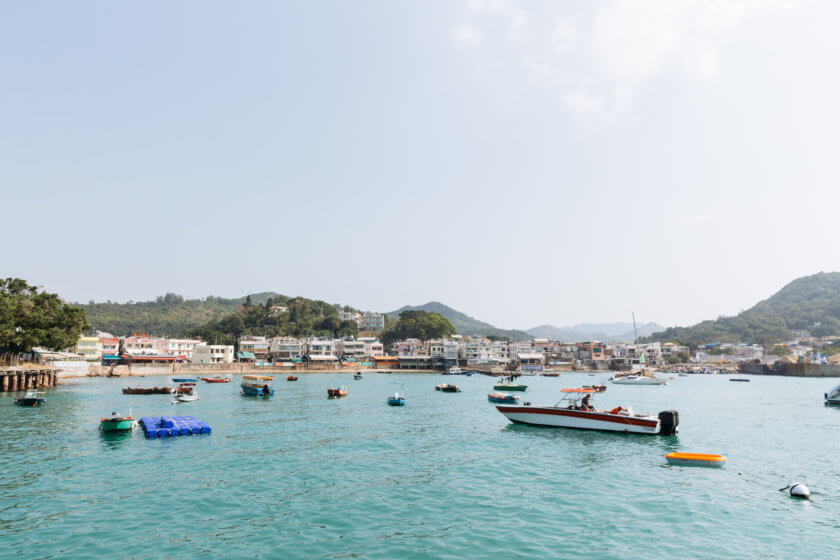 Lamma Island Fishing Harbour