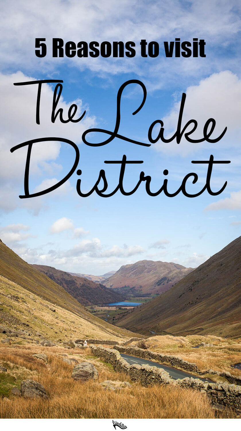 Never considered going to the Lake District before? Think again! Here are five things to do in the Lake District in North West England.