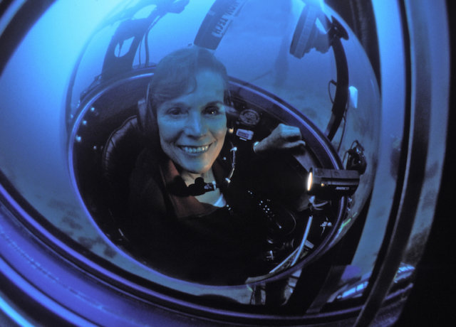 Inspiring Women Travelers: Sylvia Earle, A Woman on a'Mission Blue'