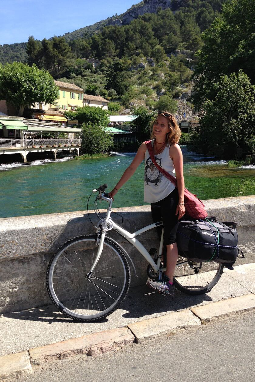 This is what it's like to explore the South of France with nothing but a paper map and a bicycle!
