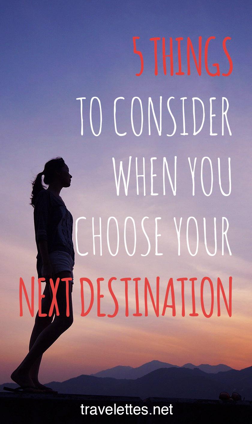 Where should you go next?