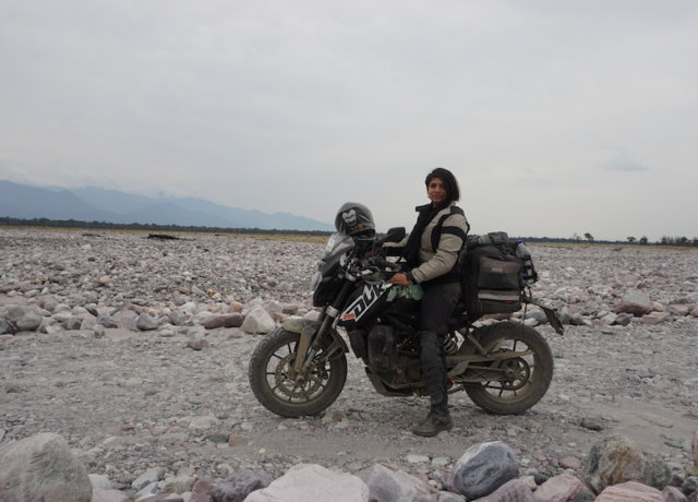 Travelette of the Month: Swati Sharma - Biking Across India
