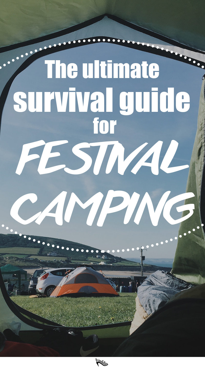 The long wait for summer is over, which can only mean one thing: it's festival season! This is our ultimate survival guide for festival camping this summer!