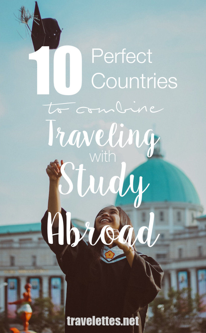 Combining studying abroad with traveling offers a unique opportunity for travel lovers to improve their CV while seeing the world!