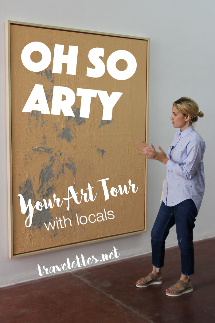 You love art & want to experience a city's art & design scene through a local's eyes? Check out our interview with Sarah Peguine about her platform Oh So Arty!