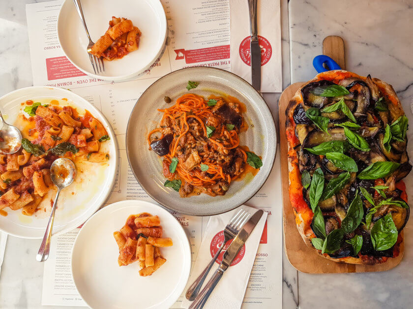 An Italian feast at Eusebi's Deli in Glasgow.