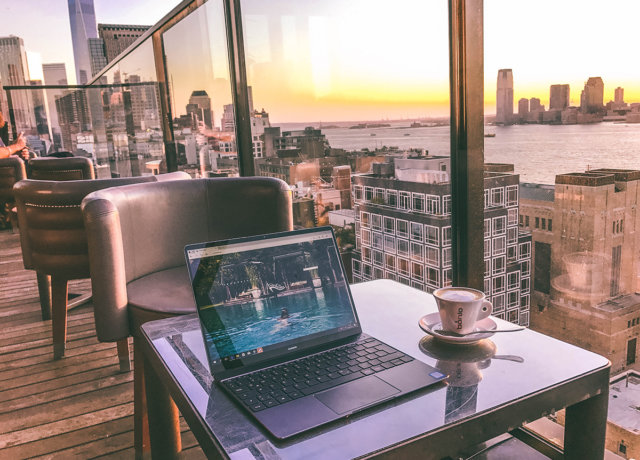 New York's best outdoor offices