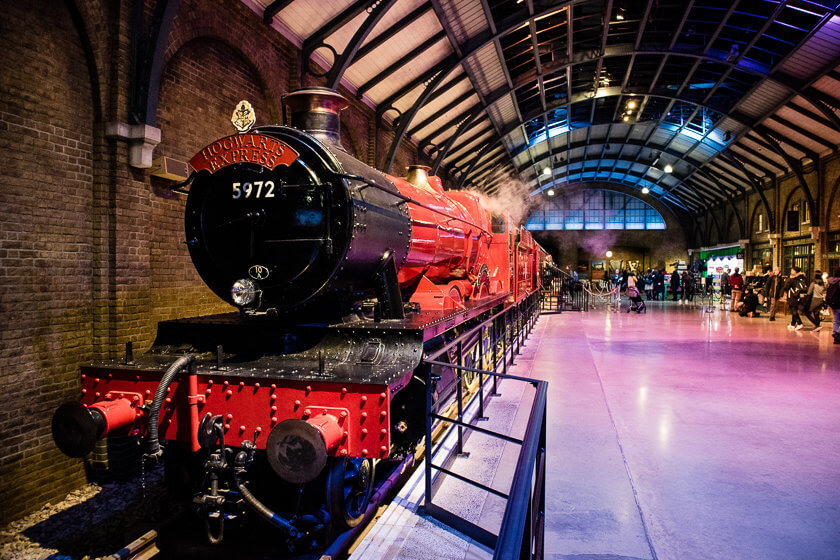 Want to see how Harry Potter was made and visit iconic film sets from the Great Hall to the Ministry of Magic in the snow? Then visit the Harry Potter Studio Tour London in Winter!