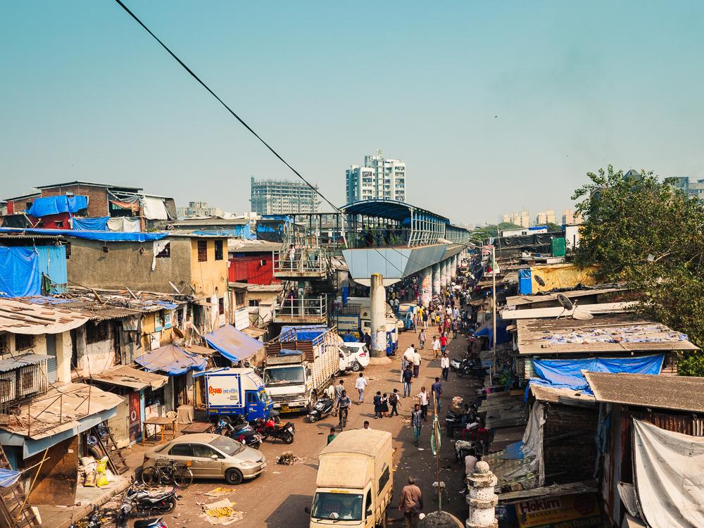 Mumbai - where rich meet slum