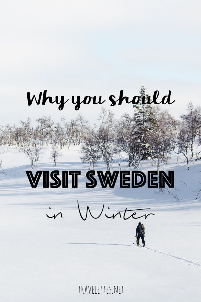 While short dark days and below freezing temperatures, there are some very good reasons why you should visit Sweden in winter! We'll let you in on a little secret...