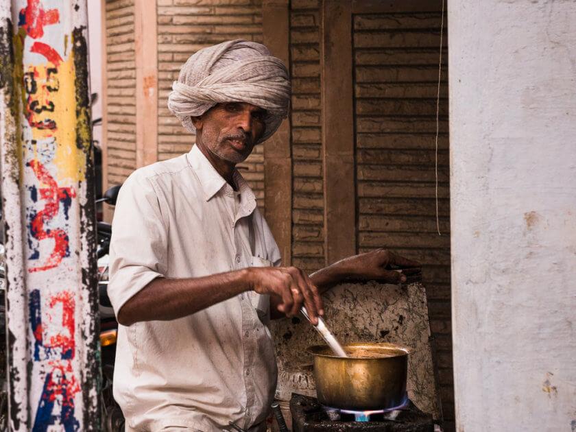 Indian streetfood chai